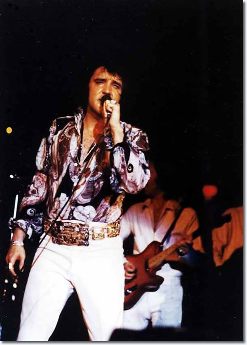 Elvis Presley : Wichita Falls, KS. : June 19, 1972