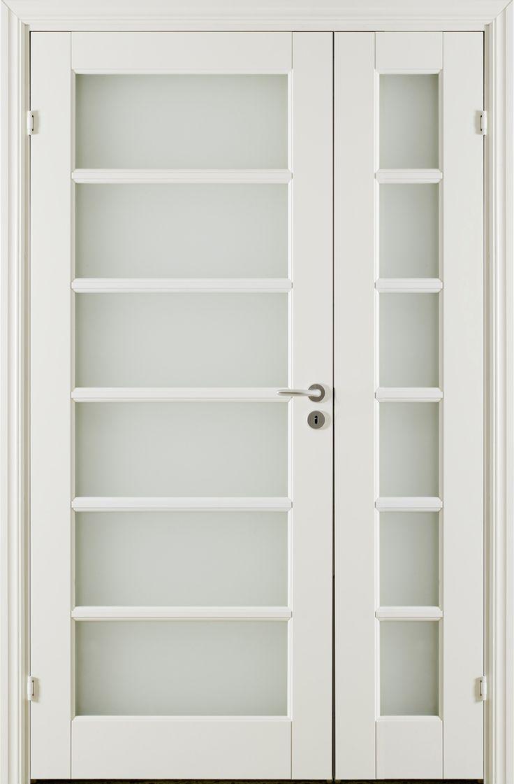 Oden SG6 Double Door - Interior Door made by GK Door, Glommersträsk, Sweden.  www.gkdoor.se