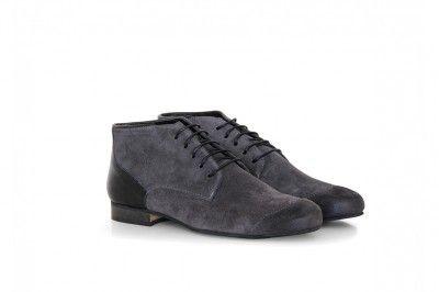 JAMES - SUEDE DARK #derbies #boots #shoes #men #leather #desertboots