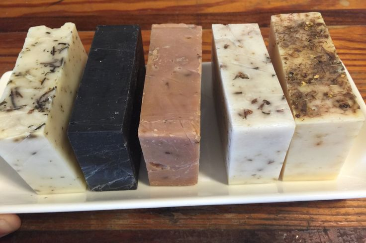 all natural soap - hand made in small batch production  -creamy with coconut oil and shea butter