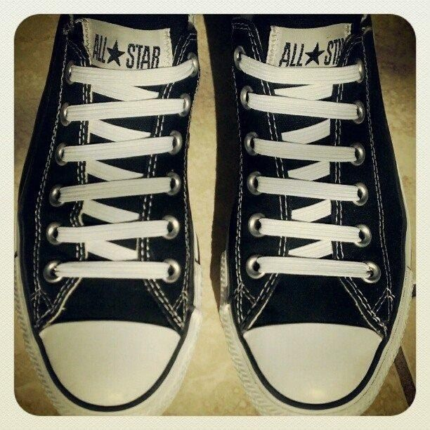 shoe strings converse