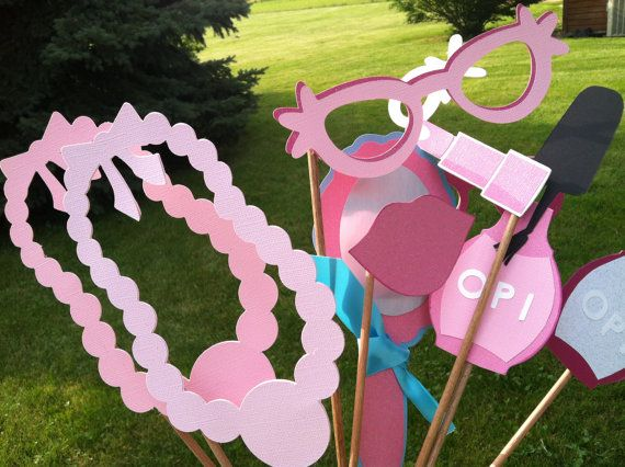 PHOTO BOOTH PROPS little miss diva by flutterbugfrenzy on Etsy, $17.00