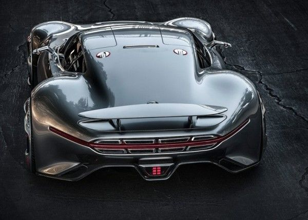2013 Mercedes Benz Vision Gran Turismo Rear View 600x429 2013 Mercedes Benz Vision Gran Turismo Full Reviews with Images