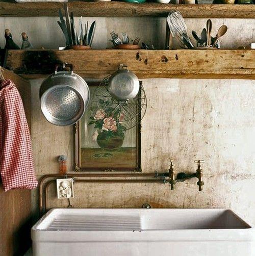 old fashion kitchen decor