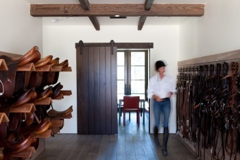 Awesome tack room