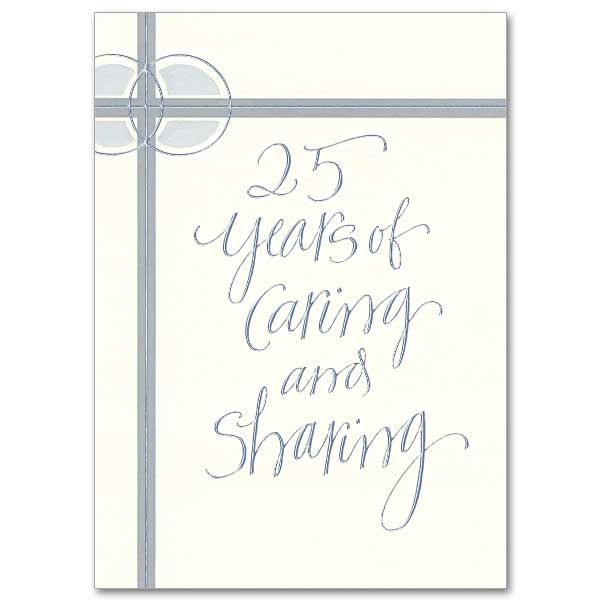 Celebrate Special Milestones Like A 25th Wedding Anniversary With Handcrafted Cards From Printery House