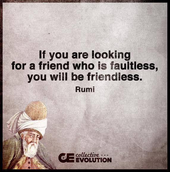 Very true...nobody is perfect..L.Loe