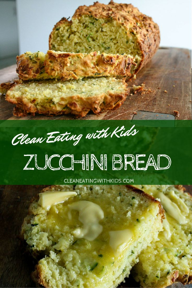 Clean Eating Zucchini Bread with 4 sneaky serves of fruit and veg. Your kids won't even notice. My fussiest loves it and it has 4-5 Zucchinis in each loaf.