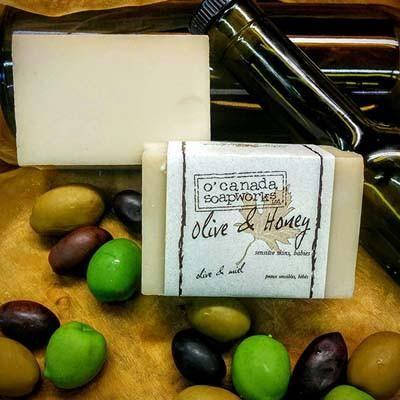 Olive & Honey Soap Bar