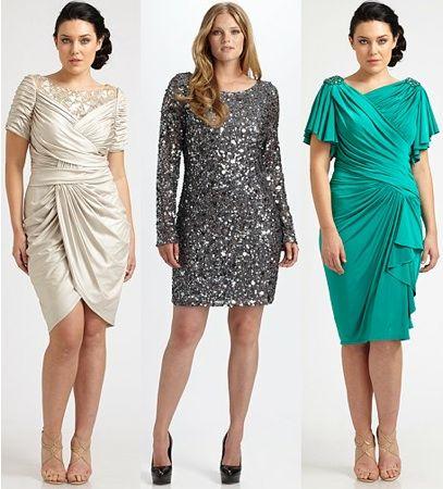 Designer Plus Dresses