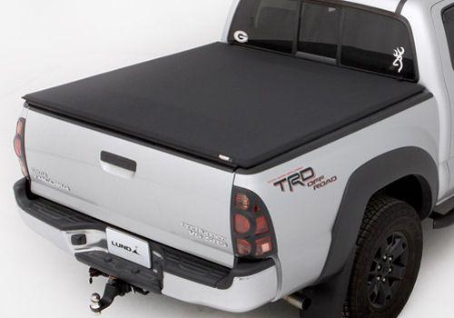 Toyota Tacoma Accessory - Lund Toyota Tacoma Genesis Elite Tri-Fold Tonneau Cover