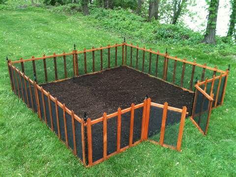 1000+ ideas about Vegetable Garden Fences on Pinterest   Garden ...