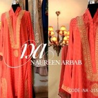 Luxury Party Wear Dresses for Girls by Nureen Arbab