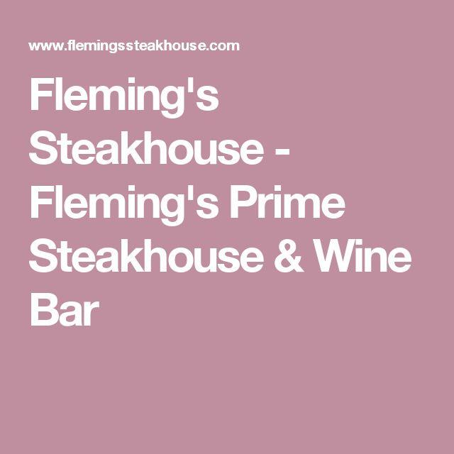 Fleming's Steakhouse - Fleming's Prime Steakhouse & Wine Bar