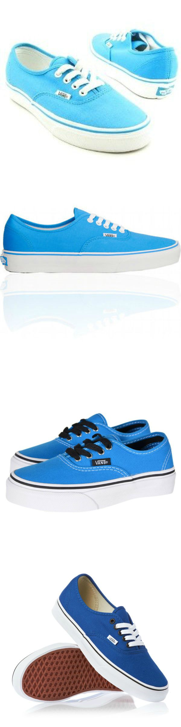 Traditional Van Blue Shoe