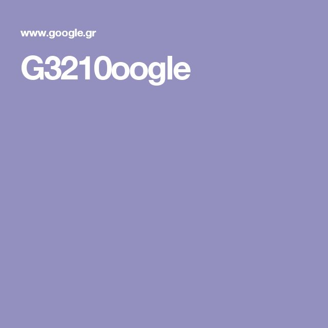 G3210oogle