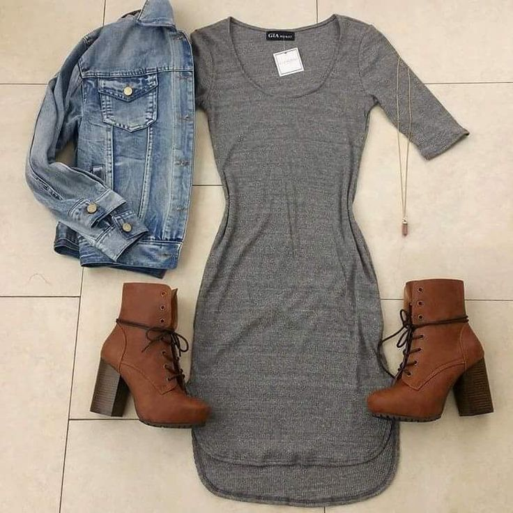 DENIM + GRAY