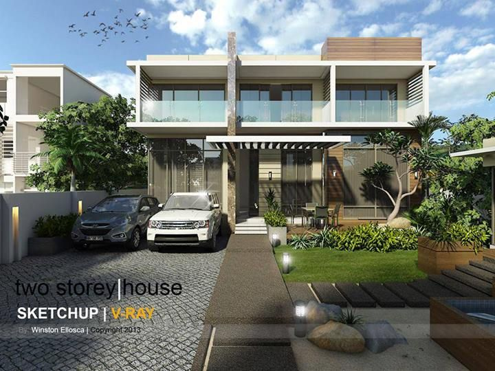 1000 images about renders wow on pinterest st john 39 s for Sketchup building design