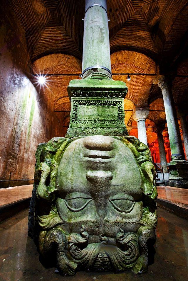 Yerebatan Cistern #medusa #istanbul #travel #holiday #history