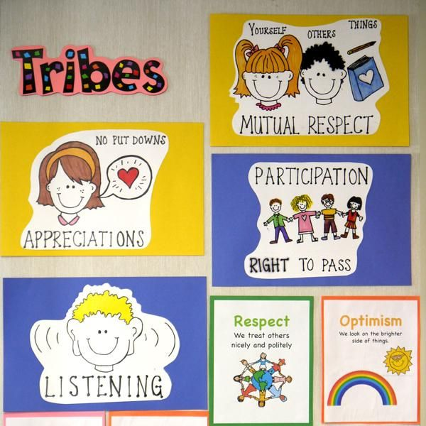 Tribes Agreements - from OISE's The Balanced Literacy Diet