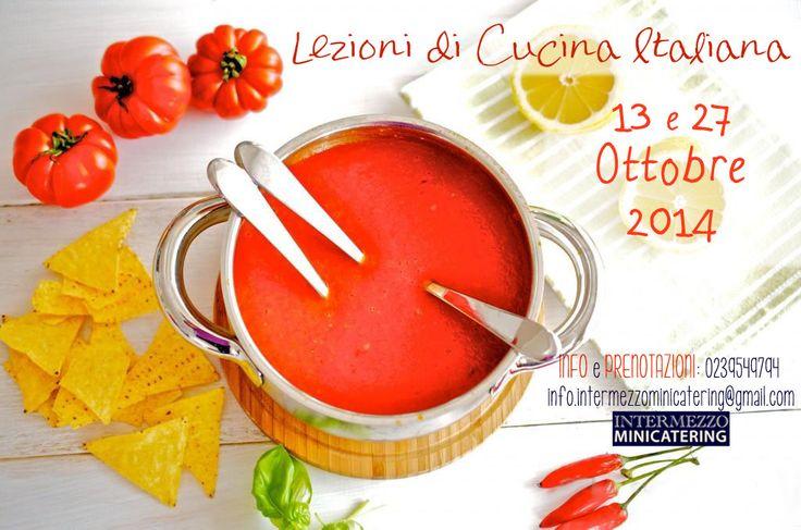 Pronti per le #lezioni di #cucina autunnali?! Intermezzo Minicatering e lo #chef Riccardo Orfino vi aspettano! Ecco le date di ottobre! #corsidicucina