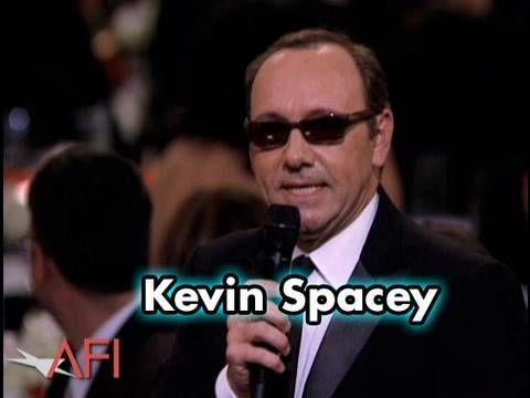 Kevin Spacey does an impression of both Christopher Walken and Jack Nicholson at the 38th AFI Life Achievement Award: A Tribute To Mike Nichols.