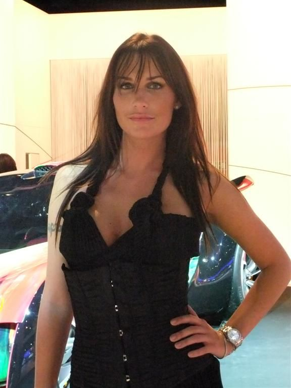 Motor Show 2010, beautiful Hostess