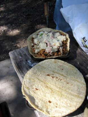 YUM!!!  Vegan Camping = Coffee and Hobo Pies | Tomorrow Friendly Food