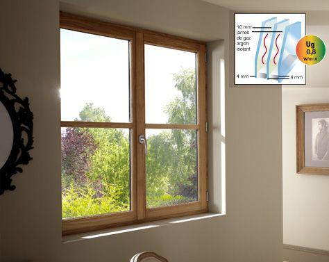 1000 id es propos de triple vitrage sur pinterest for Fenetre triple vitrage aluminium