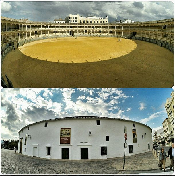 The legendary and controversial bullfighting arenas in Spain.