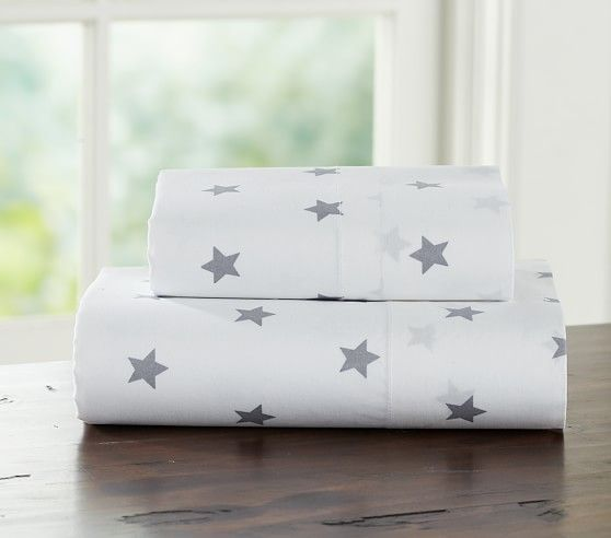 Star Toddler Sheet Set | Pottery Barn Kids