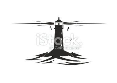 Lighthouse Royalty Free Stock Vector Art Illustration