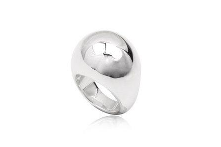 Chunky silver ring, keiraann.com