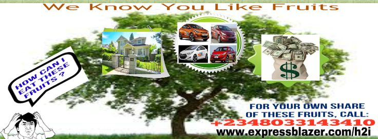 SINCE YOU LIKE FRESH FRUITS AND BECAUSE I KNOW THAT YOU KNOW @ LEAST 2 PEOPLE WHO KNOW AT LEAST 2 OTHER PEOPLE, I PRESENT THIS FREE INFO ON HOW SMART GUYS, LIKE YOU, ARE GETTING AND EATING FRUITS LIKE:<br /><br />-  CARS (LATEST MODEL OF BRAND-NEW SUVs) <br /><br />-  HOUSES ($40,000 EACH)<br /><br />- GUARANTEED PASSIVE AND MASSIVE INCOME FOR LIFE<br /><br />- IPADS/LAPTOPS<br /><br />- OPPORTUNITY TO EMPOWER THE PEOPLE YOU KNOW AND LOVE, THE LESS-PRIVILEGED, THE PHYSICALLY-CHALLENGED…