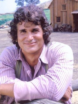 Michael-Landon-RARE-PHOTO-as-Charles-Ingalls