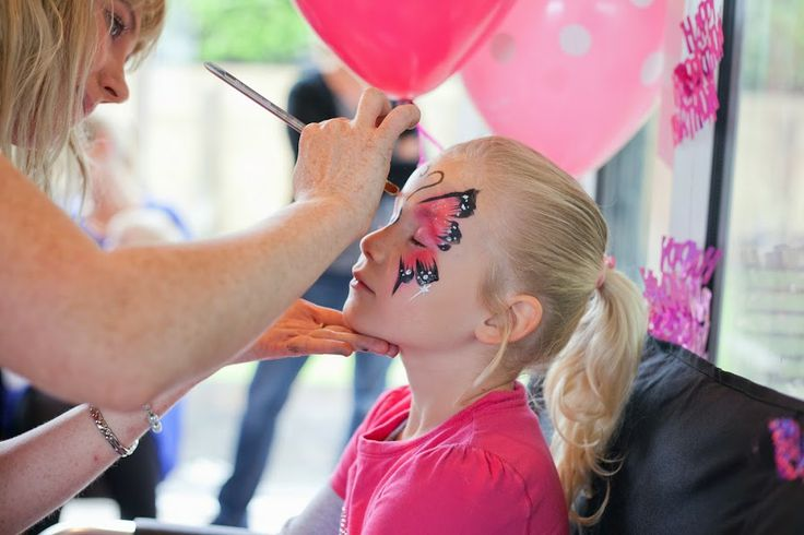 Kids love face painting. They have massive imaginations. Face painting helps them be who they want to be for the day.