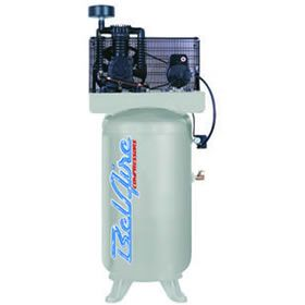 BelAire 318VN 5-HP 80-Gallon Two-Stage High-Volume Dual-Voltage Air Compressor at Air Compressors Direct includes free shipping, a factory-direct discount and a tax-free guarantee.