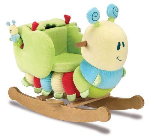 Baby Boy Rocking Horse Baby Rocker Caterpillar Toy A Fun