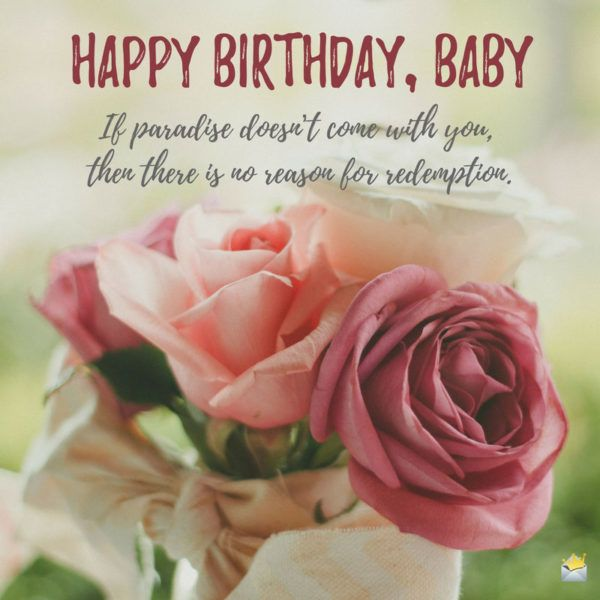 25+ Best Ideas About Romantic Birthday Wishes On Pinterest