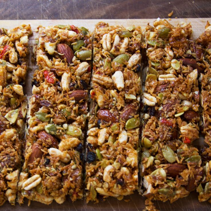 ... No-Bake Energy Bars | Energy Bars, Homemade Energy Bars and Bar