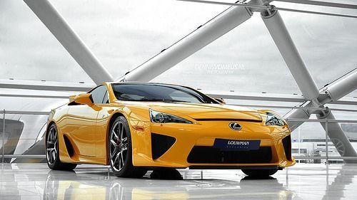Lexus auto - Lexus LFA.