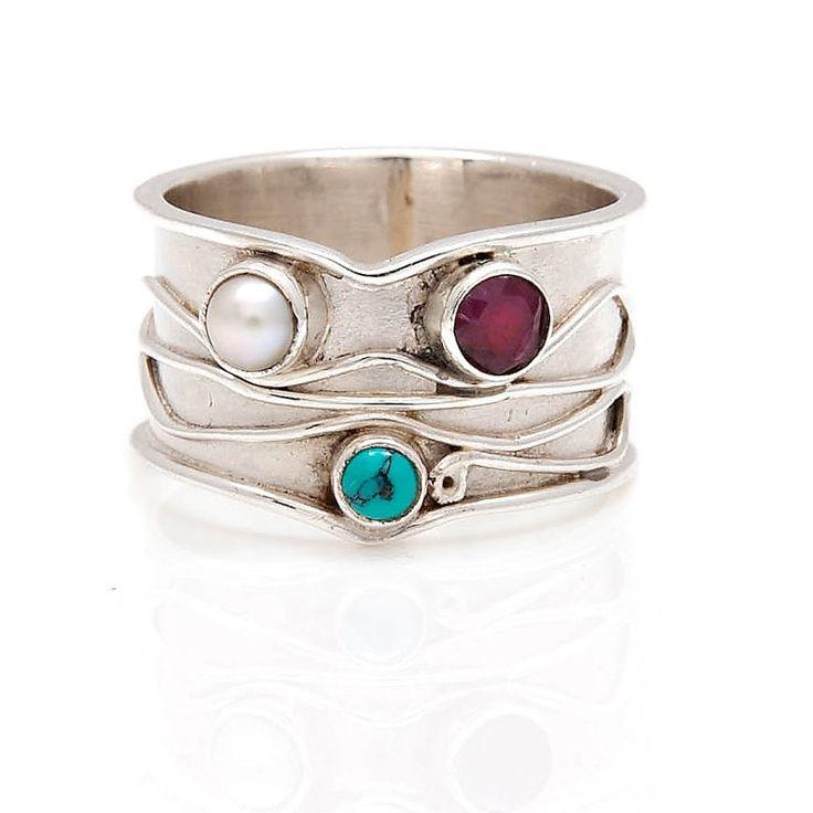 62 besten Handmade Rings by Charlotte\'s Web Bilder auf Pinterest ...