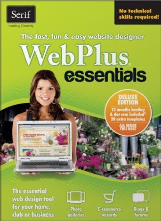 Take the complication out of web design – WebPlus Essentials puts building a fun or sophisticated website within everyone's reach. Its unique combination of impressive templates, drag and drop design simplicity, and online gadgets make WebPlus Essentials the ideal choice for tackling your first website.  Price: $19.99 ($49.99)