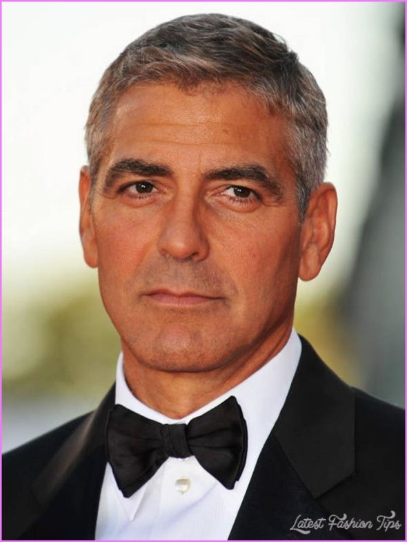 Over 50 Male Hairstyles Hairstyles Older Men Haircuts Haircuts For Men George Clooney