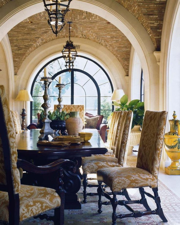 Mediterranean Style Dining Room Sets: 65 Best Images About Mediterranean On Pinterest