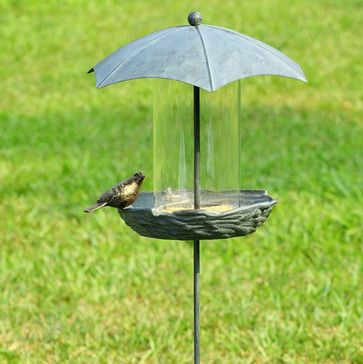 Umbrella Bird Feeder eclectic bird feeders