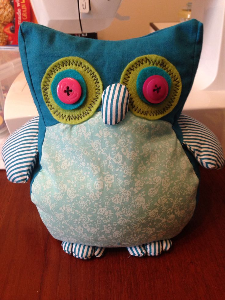 Owl doorstop my version of a woman 39 s weekly pattern for Owl fish clothing
