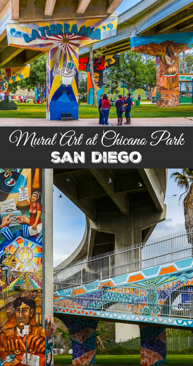 Did you know the largest collection of outdoor mural art in the U.S. is in San Diego? You can see this colorful, cultural work by visiting Chicano Park, San Diego