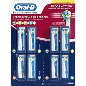 #manythings #Floss Action, No. 1 Dentist recommended brand worldwide.  Fits the following #Oral-B handles: Oral-B Professional Care Smart Series Oral-B Triumph; O...