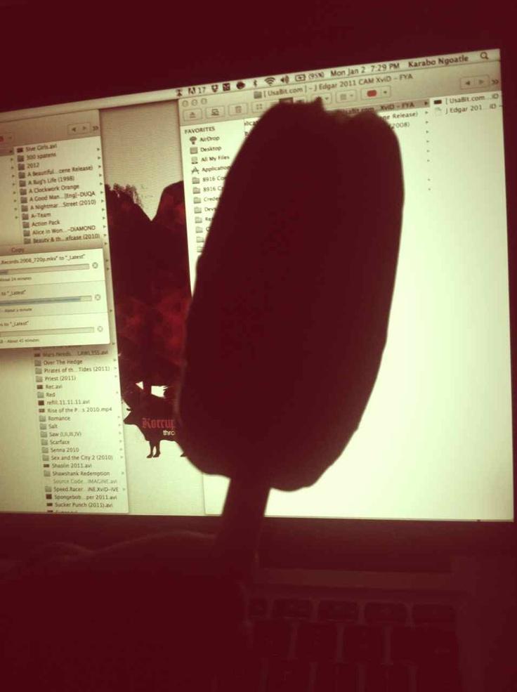I love eating Ice-Cream while I design at night.